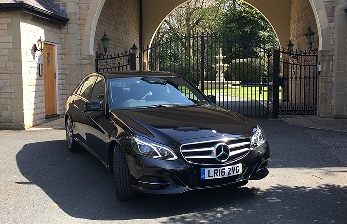 Black Mercedes E Class AMG - From £35