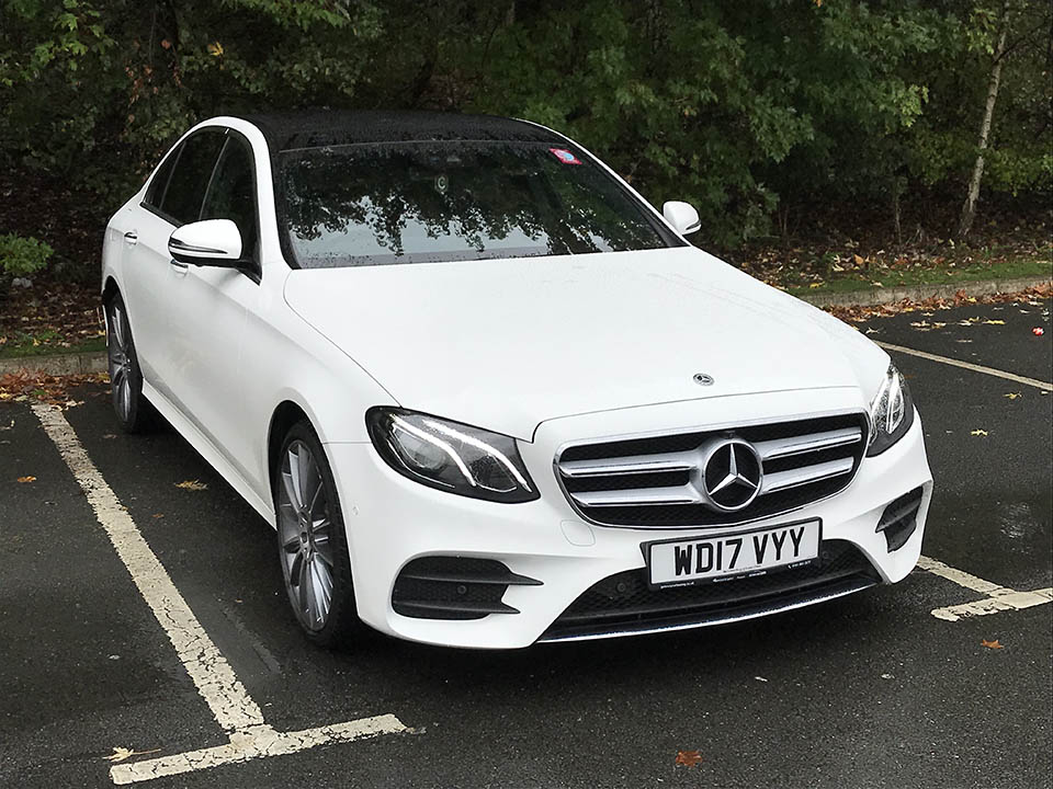 Mercedes Benz E 220 AMG - from £35