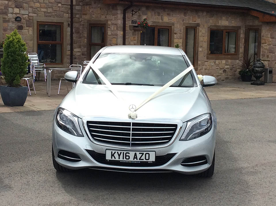 SILVER MERCEDES S CLASS SE - From £170