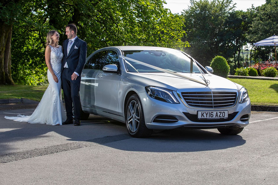 Silver Mercedes S Class SE Wedding Car Hire