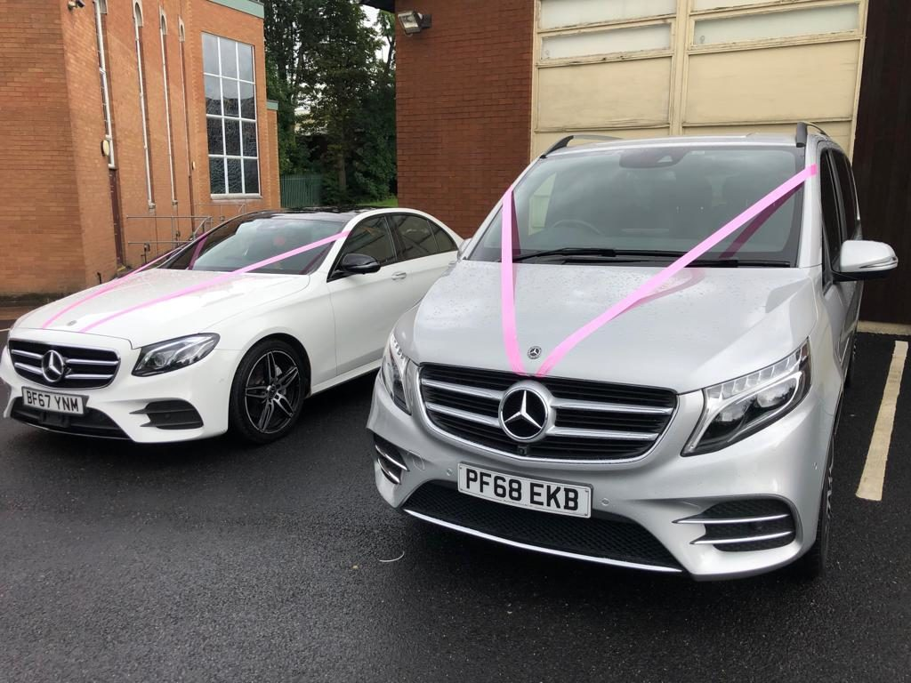 Mercedes E Class & V Class Wedding Car Hire