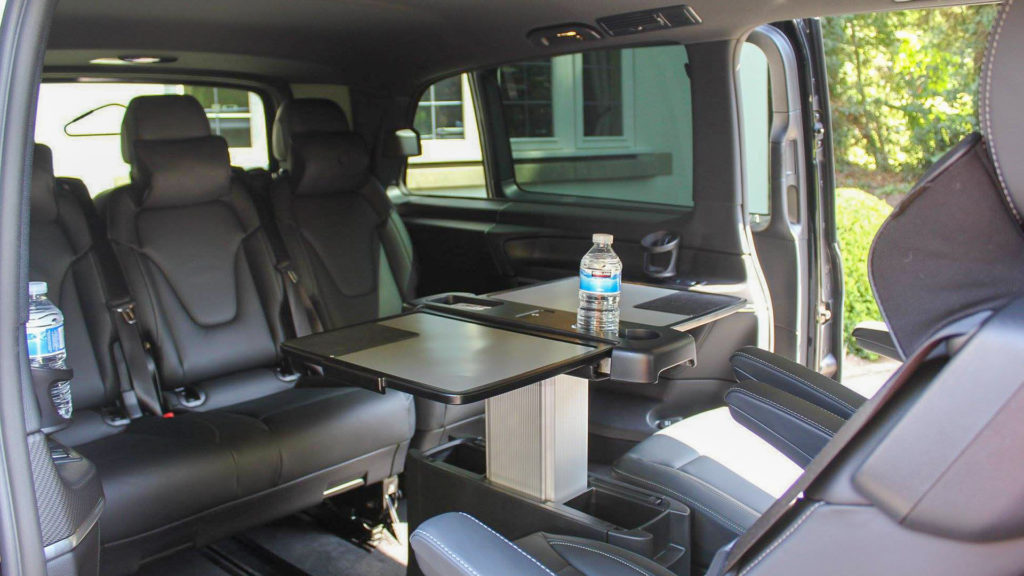 Silver V-Class Interior