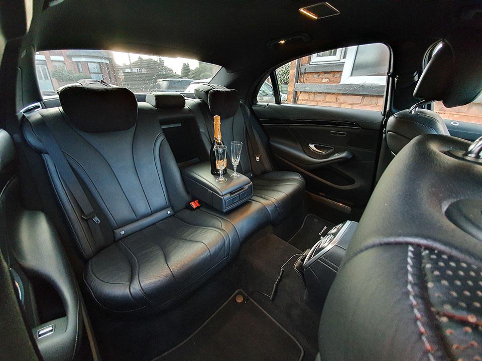 Silver S-Class Interior