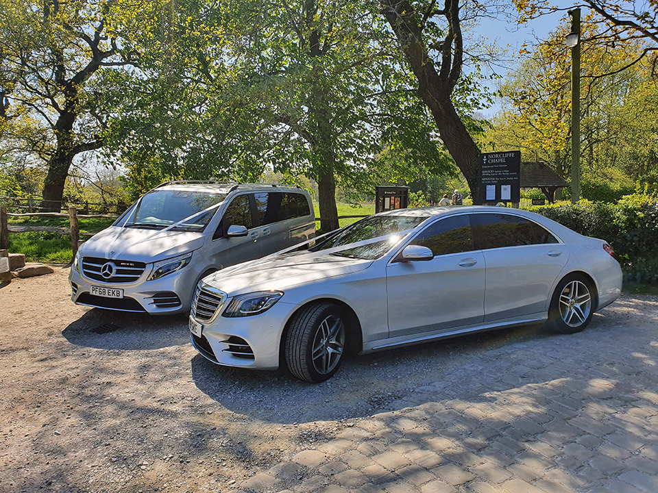 Mercedes V Class & S Class Wedding Car Hire